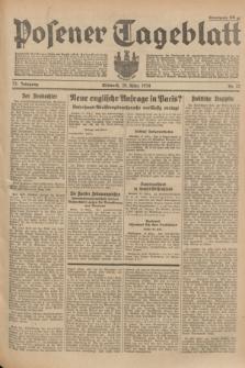 Posener Tageblatt. Jg.73, Nr. 70 (28 März 1934) + dod.