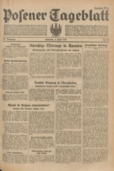 Posener Tageblatt. Jg.73, Nr. 74 (4 April 1934) + dod.