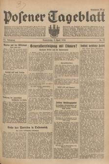 Posener Tageblatt. Jg.73, Nr. 75 (5 April 1934) + dod.