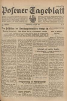 Posener Tageblatt. Jg.73, Nr. 81 (12 April 1934) + dod.