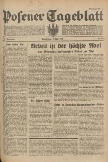Posener Tageblatt. Jg.73, Nr. 99 (3 Mai 1934) + dod.