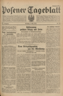 Posener Tageblatt. Jg.73, Nr. 102 (8 Mai 1934) + dod.