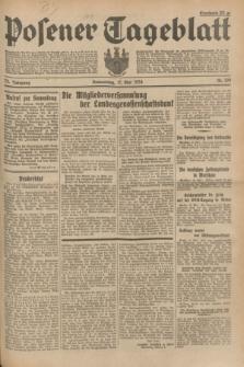 Posener Tageblatt. Jg.73, Nr. 109 (17 Mai 1934) + dod.