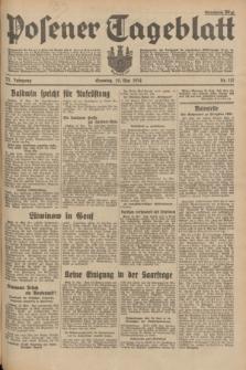 Posener Tageblatt. Jg.73, Nr. 112 (20 Mai 1934) + dod.