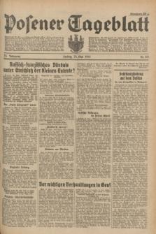 Posener Tageblatt. Jg.73, Nr. 115 (25 Mai 1934) + dod.