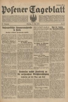 Posener Tageblatt. Jg.73, Nr. 117 (27 Mai 1934) + dod.
