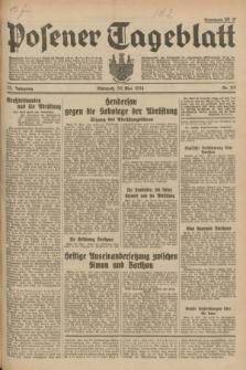 Posener Tageblatt. Jg.73, Nr. 119 (30 Mai 1934) + dod.
