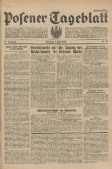 Posener Tageblatt. Jg.73, Nr. 123 (5 Juni 1934) + dod.