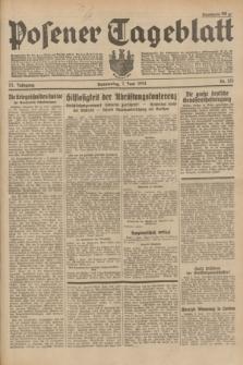 Posener Tageblatt. Jg.73, Nr. 125 (7 Juni 1934) + dod.