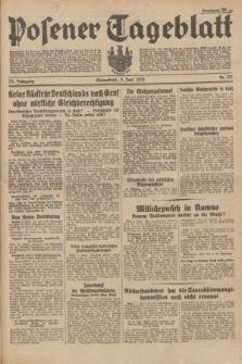 Posener Tageblatt. Jg.73, Nr. 127 (9 Juni 1934) + dod.
