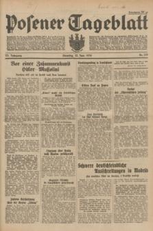Posener Tageblatt. Jg.73, Nr. 129 (12 Juni 1934) + dod.