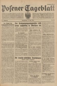 Posener Tageblatt. Jg.73, Nr. 131 (14 Juni 1934) + dod.