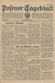 Posener Tageblatt. Jg.73, Nr. 132 (15 Juni 1934) + dod.
