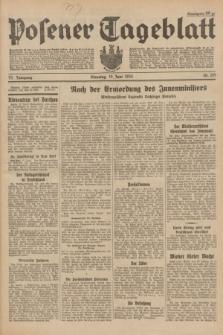 Posener Tageblatt. Jg.73, Nr. 135 (19 Juni 1934) + dod.