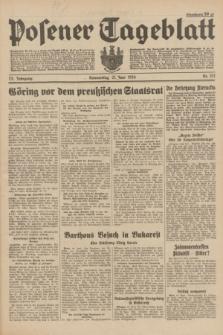Posener Tageblatt. Jg.73, Nr. 137 (21 Juni 1934) + dod.