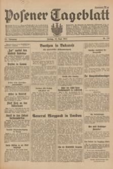 Posener Tageblatt. Jg.73, Nr. 138 (22 Juni 1934) + dod.
