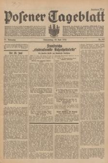 Posener Tageblatt. Jg.73, Nr. 143 (28 Juni 1934) + dod.