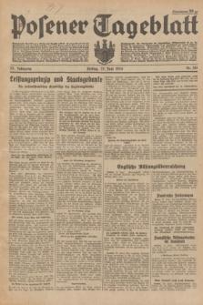 Posener Tageblatt. Jg.73, Nr. 144 (29 Juni 1934) + dod.