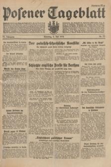 Posener Tageblatt. Jg.73, Nr. 151 (8 Juli 1934) + dod.