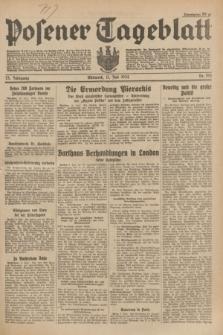 Posener Tageblatt. Jg.73, Nr. 153 (11 Juli 1934) + dod.