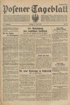 Posener Tageblatt. Jg.73, Nr. 155 (13 Juli 1934) + dod.