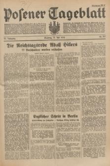 Posener Tageblatt. Jg.73, Nr. 157 (15 Juli 1934) + dod.