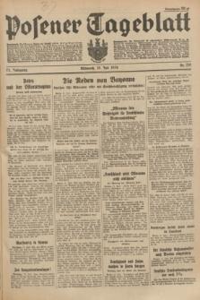Posener Tageblatt. Jg.73, Nr. 159 (18 Juli 1934) + dod.