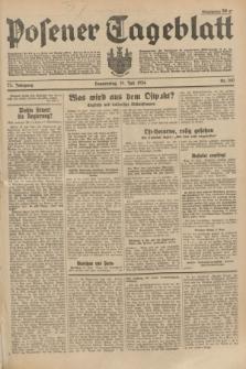 Posener Tageblatt. Jg.73, Nr. 160 (19 Juli 1934) + dod.