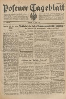Posener Tageblatt. Jg.73, Nr. 163 (22 Juli 1934) + dod.