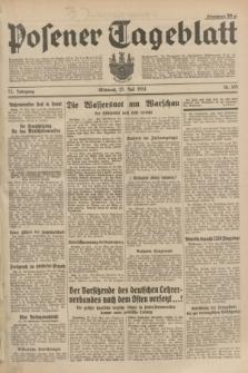 Posener Tageblatt. Jg.73, Nr. 165 (25 Juli 1934) + dod.
