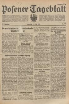 Posener Tageblatt. Jg.73, Nr. 169 (29 Juli 1934) + dod.
