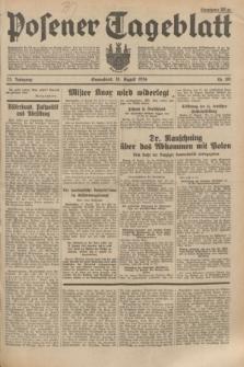 Posener Tageblatt. Jg.73, Nr. 185 (18 August 1934) + dod.
