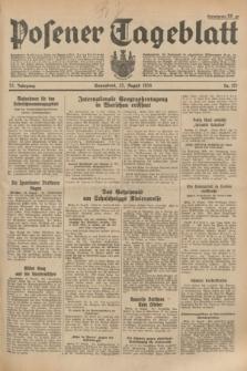 Posener Tageblatt. Jg.73, Nr. 191 (25 August 1934) + dod.