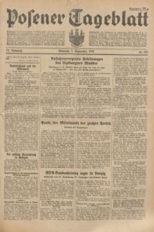 Posener Tageblatt. Jg.73, Nr. 200 (5 September 1934) + dod.