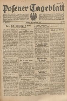 Posener Tageblatt. Jg.73, Nr. 208 (14 September 1934) + dod.