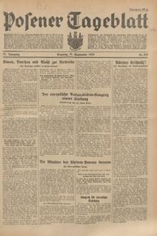 Posener Tageblatt. Jg.73, Nr. 210 (16 September 1934) + dod.