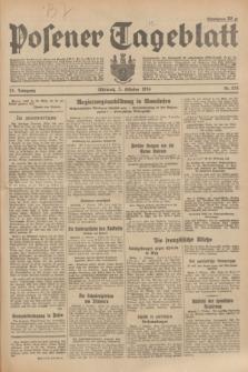 Posener Tageblatt. Jg.73, Nr. 224 (3 Oktober 1934) + dod.