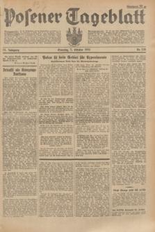 Posener Tageblatt. Jg.73, Nr. 228 (7 Oktober 1934) + dod.