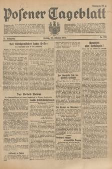 Posener Tageblatt. Jg.73, Nr. 232 (12 Oktober 1934) + dod.