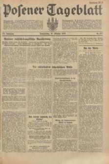 Posener Tageblatt. Jg.73, Nr. 237 (18 Oktober 1934) + dod.
