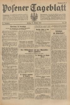 Posener Tageblatt. Jg.73, Nr. 238 (19 Oktober 1934) + dod.
