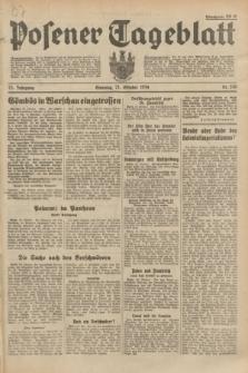 Posener Tageblatt. Jg.73, Nr. 240 (21 Oktober 1934) + dod.