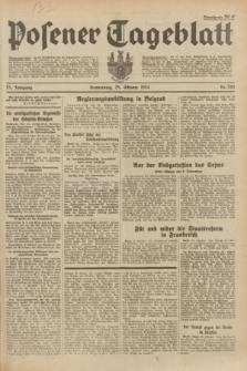 Posener Tageblatt. Jg.73, Nr. 243 (25 Oktober 1934) + dod.