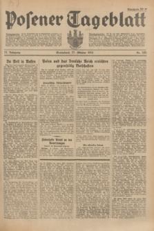 Posener Tageblatt. Jg.73, Nr. 245 (27 Oktober 1934) + dod.