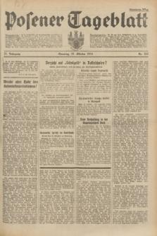 Posener Tageblatt. Jg.73, Nr. 246 (28 Oktober 1934) + dod.