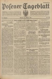 Posener Tageblatt. Jg.73, Nr. 248 (31 Oktober 1934) + dod.