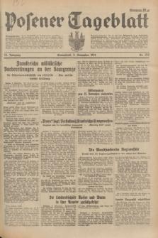 Posener Tageblatt. Jg.73, Nr. 250 (3 November 1934) + dod.