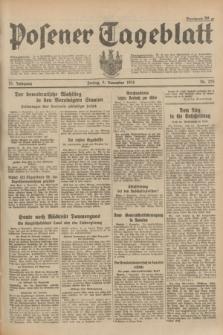 Posener Tageblatt. Jg.73, Nr. 255 (9 November 1934) + dod.