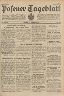 Posener Tageblatt. Jg.73, Nr. 258 (13 November 1934) + dod.