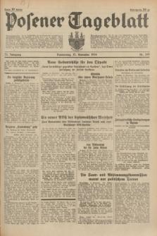 Posener Tageblatt. Jg.73, Nr. 260 (15 November 1934) + dod.